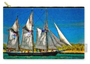 Tall Ship Paint  Carry-all Pouch