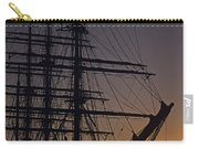 Tall Ship Silhouetted Carry-all Pouch
