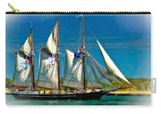 Tall Ship Vignette Carry-all Pouch