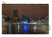 Tall Ships At Night Pano 2 Carry-all Pouch