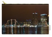 Tall Ships At Night Panorama Set Panel 1 Carry-all Pouch