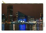 Tall Ships At Night Panorama Set Panel 2 Carry-all Pouch