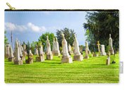 Tall Tombstones Panorama Carry-all Pouch by Thomas Woolworth