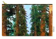 Tall Trees In Yosemite National Park Carry-all Pouch