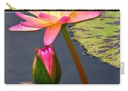 Tall Waterlily Beauty Carry-all Pouch