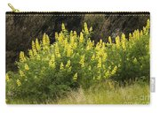 Tall Yellow Lupin Carry-all Pouch