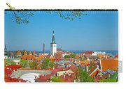 Tallinn From Plaza In Upper Old Town-estonia Carry-all Pouch