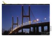 Talmadge Memorial Bridge Savannah Carry-all Pouch