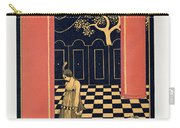 Tamara Karsavina Carry-all Pouch by Georges Barbier