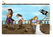Tammy And The Pirates Carry-all Pouch