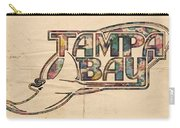 Tampa Bay Rays Poster Art Carry-all Pouch