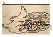 Tampa Bay Rays Vintage Logo Carry-all Pouch