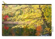 Tanasee Creek Lake And Yellow Tree Carry-all Pouch