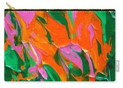 Tangerine And Lime Carry-all Pouch by Donna Blackhall