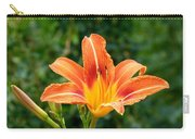 Tangerine Lily Carry-all Pouch
