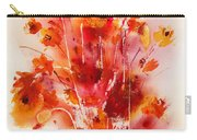 Tangerine Tango Carry-all Pouch by Hailey E Herrera
