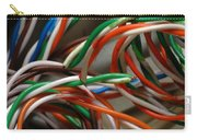 Tangle Of Colorful Wires Carry-all Pouch