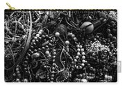 Tangled Baubles - Bw Carry-all Pouch