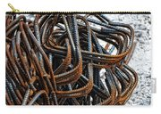 Tangled - Industrial Photography By Sharon Cummings Carry-all Pouch