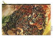 Tangled Lion Carry-all Pouch