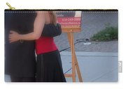 Tango Dancing On The Street Carry-all Pouch