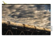 Tank Cars Carry-all Pouch by Bob Orsillo