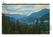 Tantalus Mountain Afternoon Landscape Carry-all Pouch