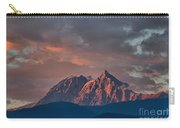 Tantalus Mountain Sunset - British Columbia Carry-all Pouch