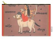 Tantra Tantric Arwork Painting Yoga India Miniature Painting Drawing Portrait  Carry-all Pouch