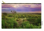 Tanzanian Bush. African Landscape. Carry-all Pouch