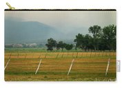 Taos Fields Carry-all Pouch by Steven Ralser