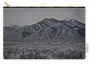 Taos In Black And White II Carry-all Pouch