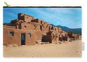 Taos Pueblo 4 Carry-all Pouch