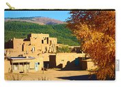 Taos Pueblo South In Autumn Carry-all Pouch