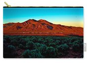 Taos Sunset Carry-all Pouch