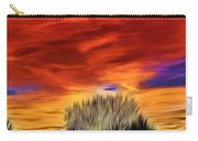 Taos Sunset Lx - Okeeffe Carry-all Pouch