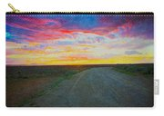 Taos Sunset On Rice Paper Carry-all Pouch