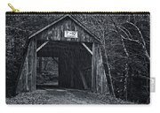 Tappan Covered Bridge Bw Carry-all Pouch