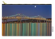 Tappan Zee Bridge Reflections Carry-all Pouch by Susan Candelario