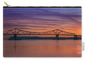 Tappan Zee Bridge Sunset Carry-all Pouch
