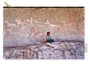 Tarahumara Boy In Painted Cave Near Chihuahua-mexico Carry-all Pouch