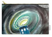 Tardis Carry-all Pouch by John Lyes