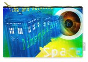 Tardis Time And Relative Dimension In Space Carry-all Pouch