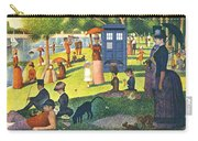 Tardis V Georges Seurat Carry-all Pouch