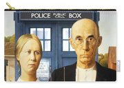 Tardis V Grant Wood Carry-all Pouch