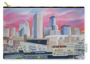 Target Field Carry-all Pouch by Deborah Ronglien