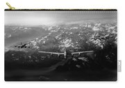 Target Tirpitz In Sight Black And White Version Carry-all Pouch