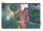Tarot 9 The Hermit Carry-all Pouch