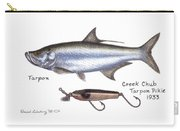 Tarpon And Creek Chub Tarpon Lure 1933 Carry-all Pouch