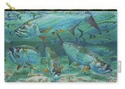Tarpon Rolling In0025 Carry-all Pouch by Carey Chen